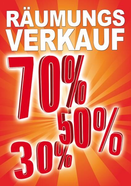 Sale | Rabatt Poster / Plakat 02