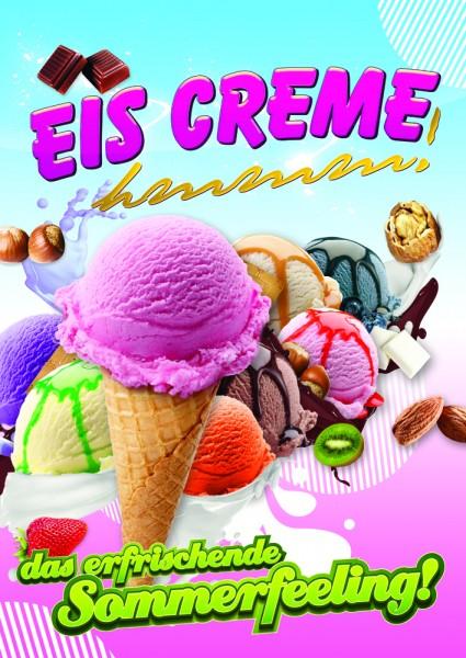 Eiscreme Plakat Motiv 2