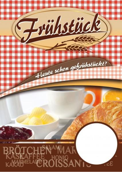Frühstück Plakat Motiv 01