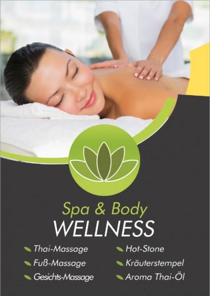 "Massage Poster ""Massage 1"""