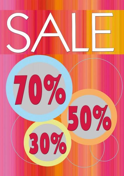 Sale | Rabatt Poster / Plakat 03