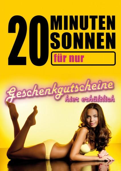 Sonnenstudio / Solarium Poster 01