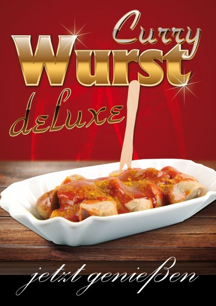 Currywurst Plakat 06