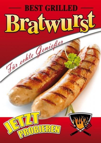 Bratwurst Plakat 02