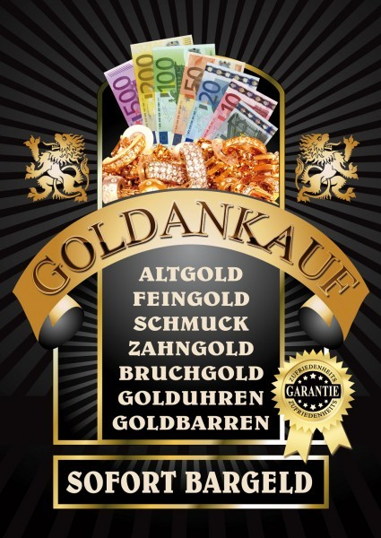 Goldankauf Poster 09