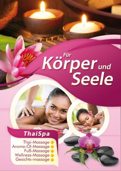 "Massage Poster ""Massage 8"""