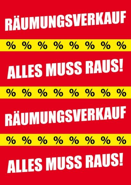 Sale | Rabatt Poster / Plakat 15