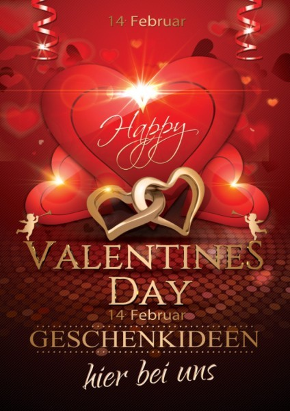 Valentinstag Poster 01