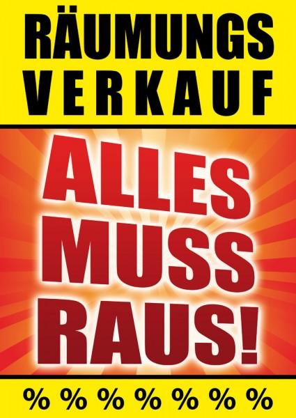 Sale | Rabatt Poster / Plakat 14
