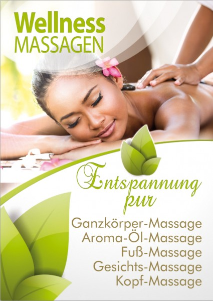 "Massage Poster ""Massage 3"""