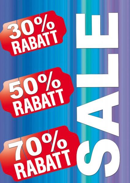 Sale | Rabatt Poster / Plakat 01