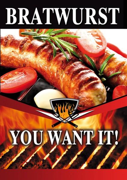 Bratwurst Plakat 04