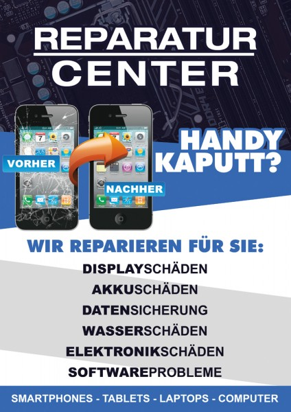 Technik Plakat Motiv 2