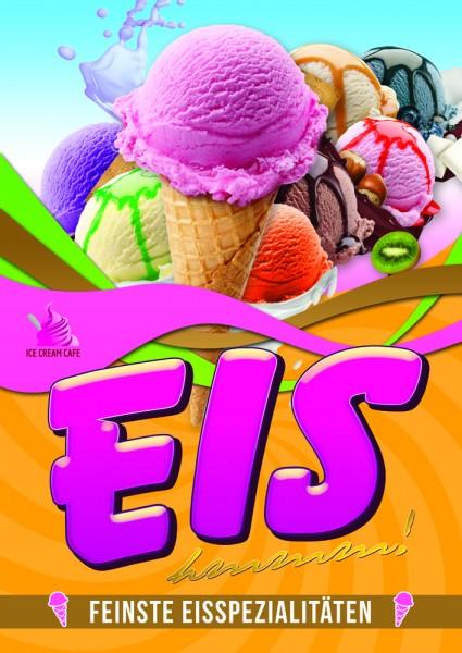 Eiscreme Plakat Motiv 3