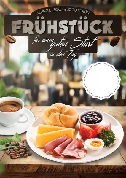 Frühstück Plakat Motiv 02
